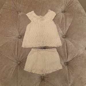 Zara Baby Girl Matching Knit Set